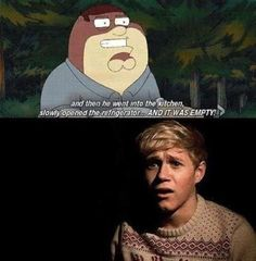 HAHAHA! This would be my face too, Niall