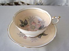Vintage Tea Cup and Saucer Paragon English Fine by CynthiasAttic