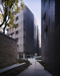 Student Hall of Residence + Family Homes | Babled Nouvet Reynaud Architectes