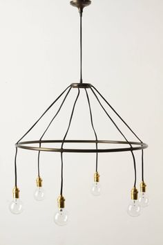 Halo Chandelier - anthropologie.com