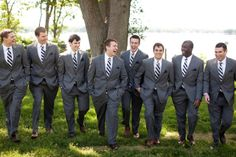 Bayside Bride Wedding | Annapolis Wedding Blog for the Maryland Bride - Nautical Groomsmen #nautical #wedding