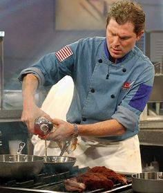 bobby flay | Chef Bobby Flay, along with Emeril Lagasse and other celebrity chefs ...