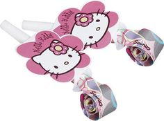 Hello Kitty Bamboo Blowouts (Pk 6) by Monster Parties *** You can get additional details at the image link.(It is Amazon affiliate link) #la