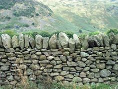 Dry stone wall, England, by Shirley Haden