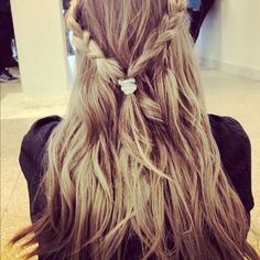 Great look for long hair