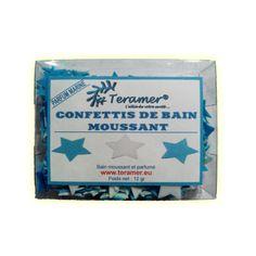 ✭ Confettis de bain moussant étoiles - Boite de 12gr ✭