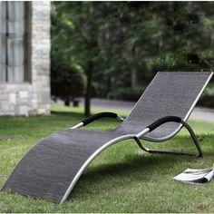 SupaGarden Sardinia Garden Outdoor Lounger Aluminium High Quality Brand New - SGF25 - Garden and Outdoor