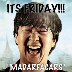 e34b4063f549c39ced8f55d573e9227b mr chow the hangover it's friday!!! madarfacars funny stuff pinterest humor, friday
