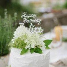 3D Cake Topper Happy Birthday Julia Happy Birthday Julia, Sag Ja, Summer Wedding, Cake Toppers, Wedding Cakes, 3d, Garden Parties, Birthday Cake Toppers, Garlands