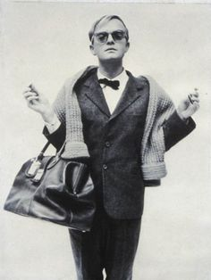 """Truman Capote was born in New Orleans, LA. His parents divorced when he was four, and he was sent to Monroeville, Alabama, where, for the following four to five years, he was raised by his mother's relatives. Famous for """"Breakfast at Tiffany's"""" & """"In Cold Blood"""".... to name a few of the many."""