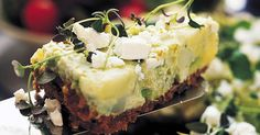 Grön potatischeesecake - Recept - Arla