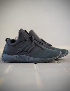ARKK SUPERIOR RAVEN Black Nubuck Sneaker SL1400-0099-M