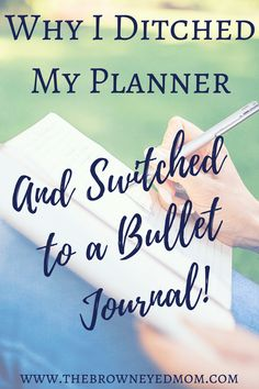 Why I ditched my planner and switched to a bullet journal! #bulletjournal #bujo #leuchtturm #planning #planner