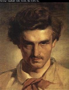 Anselm Feuerbach Self-Portrait oil painting picture