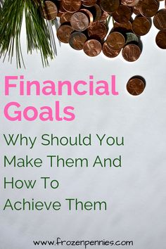 Instead of resolutions, try financial goals. Keep motivated and crush your goals in the new year with these top financial goal suggestions. Living On A Budget, Family Budget, Frugal Living, Financial Peace, Financial Goals, Budgeting Finances, Budgeting Tips, Goal Charts, Frugal Tips