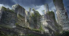 The Giants of the Past - A lost City by flaviobolla.deviantart.com on @deviantART