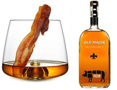 14 Bacon-Infused Booze Innovations - From Pork-Branded Alcohol to Breakfast Maple Whiskies (TOPLIST)