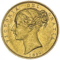 Sovereign 1852 Gold