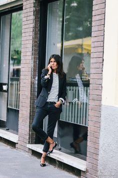 20 Emanuelle Alt looks that define uniform dressing