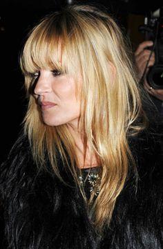 Kate Moss fringe