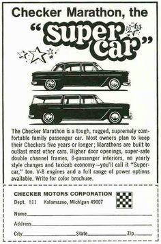 Checker Motors ad