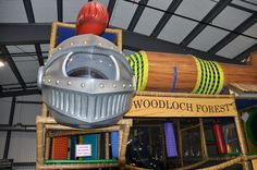 We designed, manufactured and installed this themed indoor playground at Woodloch. www.iplayco.com for more information on how to make your resort family friendly. #weBUILDfun