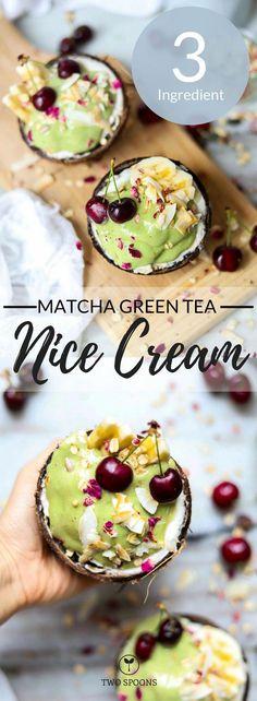 40 Powerful Matcha Recipes That Maximize Green Tea Benefits - Another! Healthy Dessert Recipes, Vegan Snacks, Gourmet Recipes, Sweet Recipes, Vegan Recipes, Vegan Sweets, Vegan Meals, Vegetarian Food, Delicious Recipes