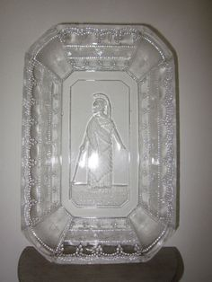 EAPG 1881 Adams & Co Minerva (person)  Rectangle beaded  bowl