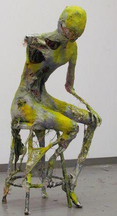 Figurative Sculpture Untitled2 by Magicmufinelf on deviantART