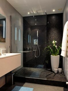 120 Elegant And Modern Bathroom Shower Tile Master Bath #MasterBathShowers