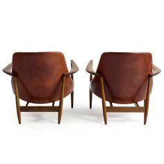 Pair of Rosewood Ib Kofod-Larsen Elizabeth Chairs image 4