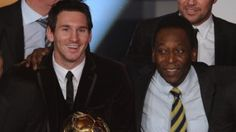 In my soccer mind, Pele is still #1, just as Bruce Lee (RIP) is still #1. You can't explain enough bull to change my mind buddy :( REBT :D  - Messi hasn't won a World Cup like Pele, but he's played against the world's best in Europe.