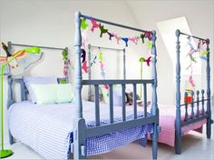 Bedroom , 30 Great Ideas for Shared Kids Room : Shared Kids Room Playful Shared Kids Bedroom