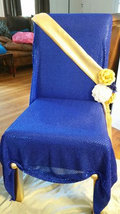 Royal Baby Shower DIY throne chair                                                                                                                                                     More