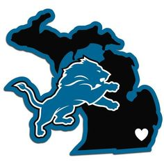 Detroit Lions Decal Home State Pride #DetroitLions
