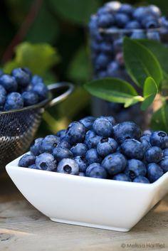 Blueberries sind auch blau