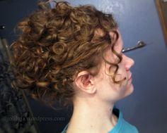 victorian hairstyles | Bobby Pinned Updo (tutorial) | Joliluja