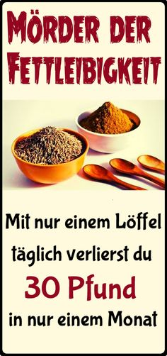 Mit nur einem Esslöffel pro Tag, wirst … This is the killer of obesity! With only one tablespoon a day, you will lose 30 pounds in a month. Diet And Nutrition, Health Diet, Healthy Diet Recipes, Healthy Life, Healthy Food, Fitness Diet, Health Fitness, Daily Health Tips, Fad Diets