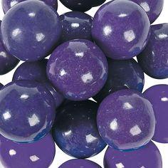 Large Purple Gumballs - OrientalTrading.com