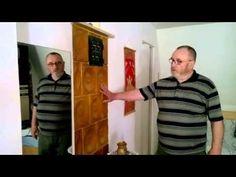 Egy kandallóval hat helyiséget fűt Bakos György kályhás kandallója - YouTube