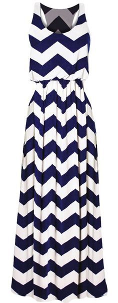 maxi dress, chevron pattern, summer style