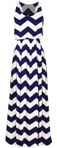 maxi dress, chevron pattern, summer style
