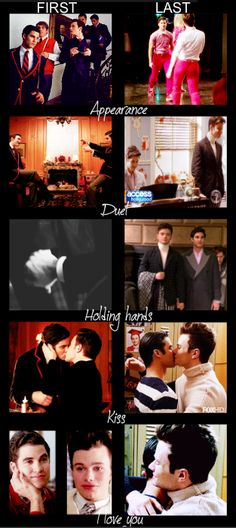 KLAINE - FIRSTS AND LASTS