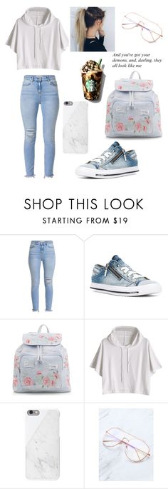 """""""Starbucks with Style!"""" by ayeshaghori ❤ liked on Polyvore featuring Diesel and New Look"""