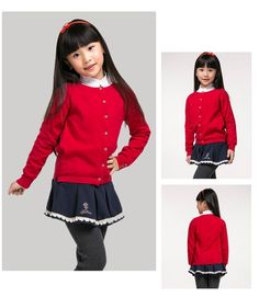 DGCM3001_05 Knitted Coat, Spring Tops, Fall Jackets, Girls Sweaters, New Girl, Fall Outfits, Knitwear, Long Sleeve Tops, Infant