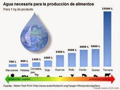 Según la ONU, la crianza y la matanza de animales para comida es la causa número uno de emisiones de gases contaminantes; Y es una de las primeras causas que más contribuyen a los problemas ambientales más graves a todas las escalas, desde la local a la global. #Agua #Ganadería #Agricultura #Alimentación