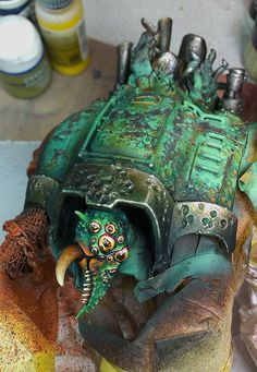 MONSTROYS Imperial Knight of Nurgle WIP #1.jpg; 500 x 724 (@100%)