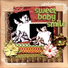 sweet baby smile - Scrapjazz.com