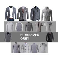 Mens Fashion Blazer, Fashion Fashion, Designer Clothes For Men, Designer Clothing, Casual Suit, Grey Outfit, Boutique Clothing, Men Dress, Outfit Ideas
