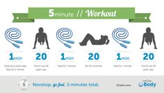 Check out our 5 minute workout. #12WBT